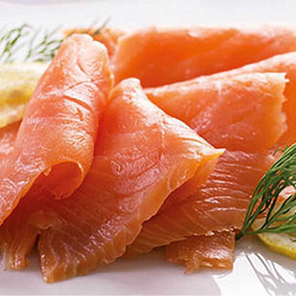 Scottish smoked salmon 500g pack