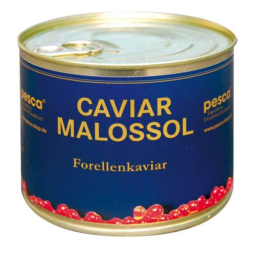 Red Salmon caviar, 500g metal tin