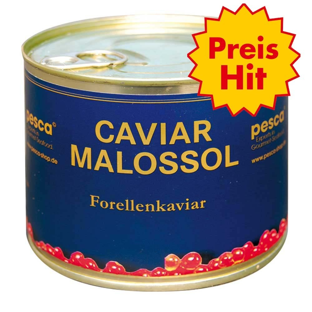 Golden salmon caviar, 500g