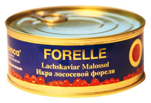 Red salmon trout caviar from the Lueneburg Heath, 250g