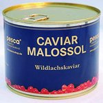 Wild salmon caviar of Pink 250g metal tin
